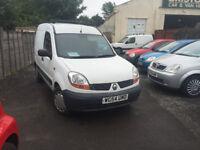 Renault Kangoo Van 1.5 Diesel Manual White 2005