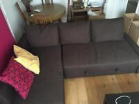 IKEA FRIHETEN Corner sofa-bed with storage - GOOD CONDITION