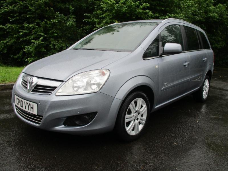 10/10 VAUXHALL ZAFIRA DESIGN 1.9 CDTI AUTOMATIC WHEEL CHAIR ACCESS VEHICLE