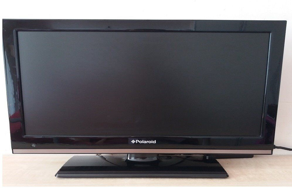 19 inch television 39 polaroid 39 hd ready led tv dvd combi with freeview tv channels all ready to. Black Bedroom Furniture Sets. Home Design Ideas