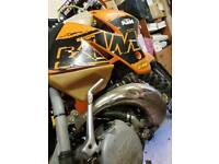 2000/01 KTM 250 EXC with Spares