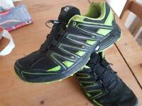 Salomon ACS trail shoes. Size 10 Used once