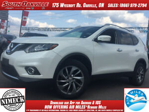 2015 Nissan Rogue SL | DUAL SUNROOF | HEATED LEATHER | NAVIGATIO