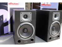 Pair of PHONIC P6A Active / Powered Studio Monitors