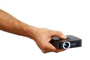 Philips Pico Projector,100 Lumens,30,000 Hour LED,DLP Projector