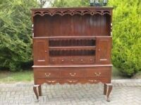 Solid Mahogany Country Kitchen Welsh Dresser
