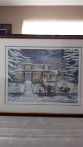 Rare Janice Tanton limited edition print - A Winter's Tale