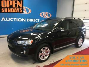 2012 Mitsubishi Outlander XLS 4X4! 7 PASS! LEATHER! SUNROOF!