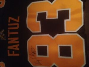 Signed Ticats jersey