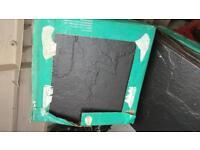 Floor Tiles....60 black ceramic heavy duty....31.x 31 Wickes