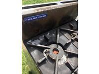 Blue seal 4 burner cooker oven.