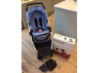 Phil & Teds Voyager Double Pushchair/ Buggy