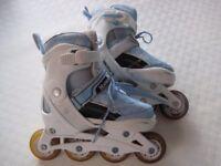Children's inline skates. Adjustable size 13 - 3