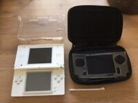 Ds lite with Protective case and carrying case