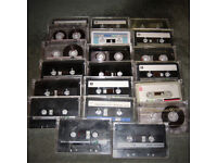 20 x TDK C90 tape casettes, used music cassette tapes.