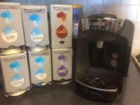 Bosch Tassimo machine and pods