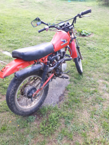 Honda XL 100 for parts or repair