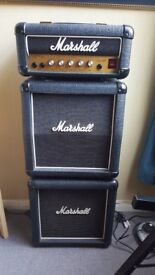 Marshall lead 12 mini stack - very collectable 80;s version as used by ZZ top