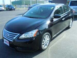 2013 NISSAN SENTRA 1.8 SV LUX- SUNROOF, HEATED FRONT SEATS, BLUE