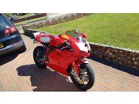 Ducati 749R low mileage 7800 full Ducati history