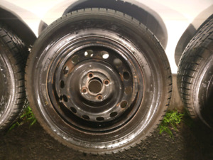 P185/70R14 summer tires and rims
