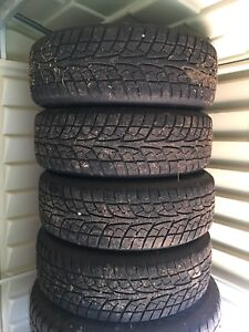 4 Like New Ice Blazer Winter Tires and Rims - 205/60/R16
