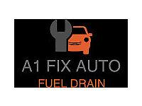 Fuel Drain / Contaminated Fuel Drain / Wrong Fuel Drain