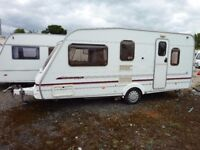 2002 Swift Blakemere L 5 Berth Caravan with Motor Mover & Full Awning