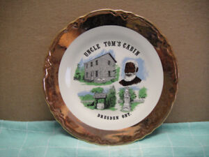 Uncle Tom Cabin Plate