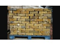 Beautiful reclaimed yellow stock bricks. £1 each