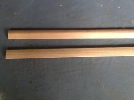 Oak door strips