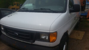 parting out 2004 ford econoline van with 5.4 triton v8