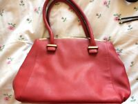 Red Next Handbag New Without Tags