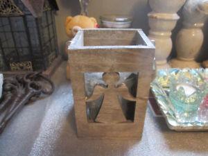Wooden Angel Lantern