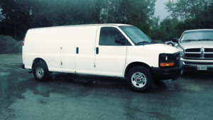 2011 Gmc Savana cargo van 3500 $5495 Certified and etested