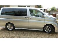 Nissan 8 Seat Luxury People Carrier