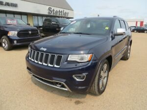 2014 Jeep Grand Cherokee OVERLAND ECO-DIESEL!! EXTENDED WARRANTY