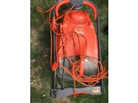 Flymo Hover lawnmower in good condition, 3 years old.