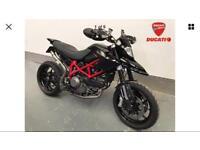 Ducati hypermotard 1100 low miles full service history not Honda Kawasaki sazuki BMW triumph 600 750