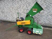 Used SCH Wood Chipper/Shredder Petrol