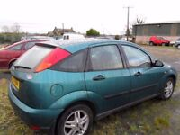 ford focus parts from 5 cars petrol & diesel from 2001 to 2005