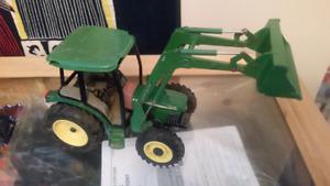 Large john deer metal tractor