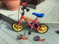 """Fireman Sam 12"""" inch Boys bike"""