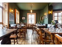 Head Chef for independent gastro pub in SW1V