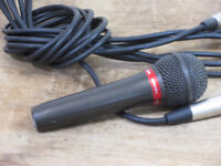 Audio Technica AT27HE Hypercardiod Dynamic Lo-z Vocal Microphone