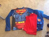 7-8 years superman pyjamas