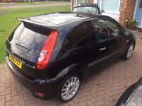 Ford Fiesta Zetec S 1.6L (2006) with full service history, full leather seats and new Cambelt