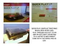RECORD PLAYER OR LAPTOP TO MP3 CONVERTER