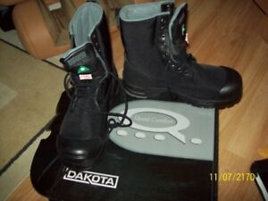 New Black working boots