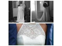 Mojgan bridal couture wedding dress size 10/12